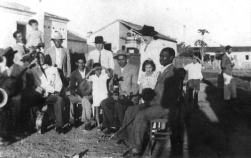 Músicos em prol da construção da 1ª sede social