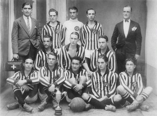 A equipe do São Paulo Gás Company