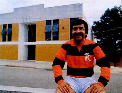 João Carlos da Silva, o Balduíno, ídolo do Rubro-negro de Capoeiras