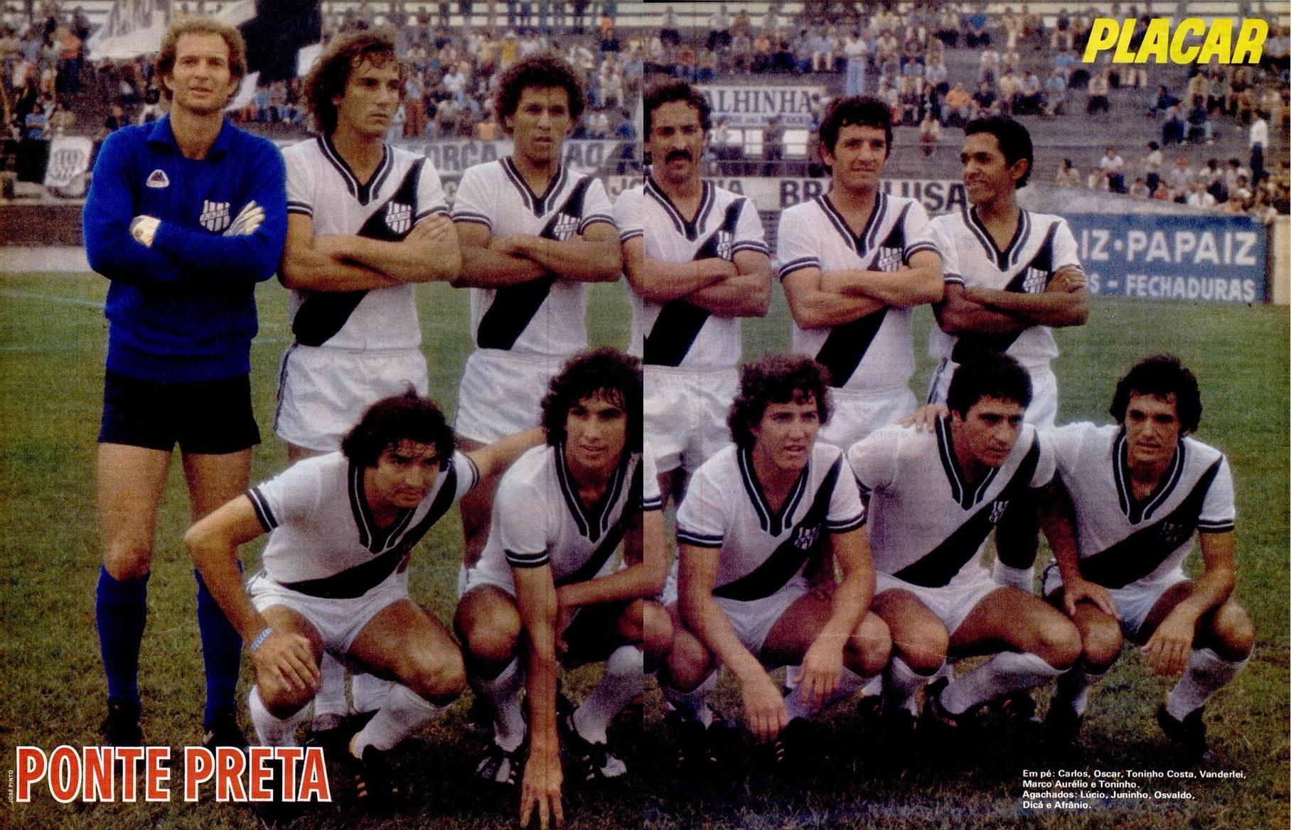Pôster de 1979: Associação Atlética Ponte Preta – Campinas (SP ...